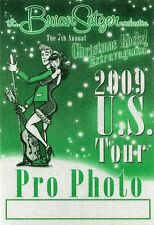 BRIAN SETZER 2009 Christmas Extravaganza Tour Backstage Pass!!! STRAY CATS #1