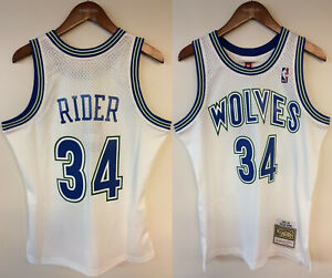 Isaiah Rider Jr. Minnesota Timberwolves Mitchell & Ness NBA Authentic Jersey
