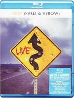 "RUSH ""SNAKES & ARROWS"" BLU RAY NEW+"