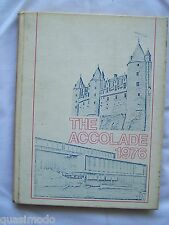 1976 SAINT FRANCIS DE SALES HIGH SCHOOL YEARBOOK, TOLEDO, OHIO   THE ACCOLADE