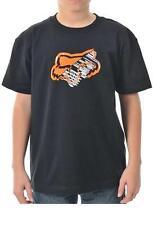 Tee shirt  enfant - T-shirt child  FOX boys perception , NOIR en 8 ans  - neuf