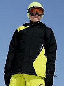 Volcom Fuels Jacket Boys Youth Snowboard Ski Waterproof 180g Insulated Black M L