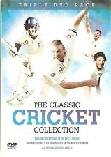 The Classic Cricket Collection Englands Best Matches 3 X DVDs Boxed Set