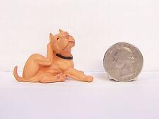 "Tan Pit bull Dog 2"" Figure Hood Hounds Homie Scratch"