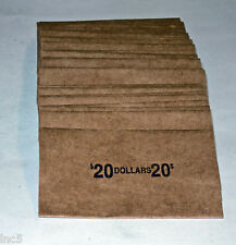 100 MORGAN / EISENHOWER DOLLAR COIN  FLAT WRAPPERS NEW