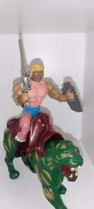 Masters Of The Universe YUGO Bootleg - He-Man and Battle Cat Prince Adam