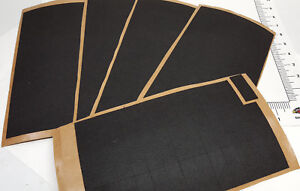 Felt rectangle pads with adhesive backing for glass floor or counter protection