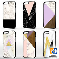 GEOMETRIC MARBLE WOODEN GOLD GLITTER White Tumblr Phone For iPhone Case Cover