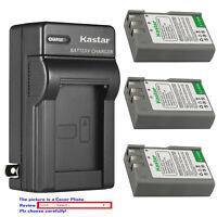 Kastar Battery AC Wall Charger for EN-EL9a MH-23 Nikon D40X SLR Digital Camera