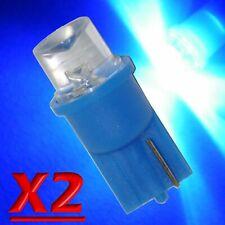 2 LED T10 Concave BLU Lampade Lampadine Luci Per Targa e Posizione MODELLISMO W5