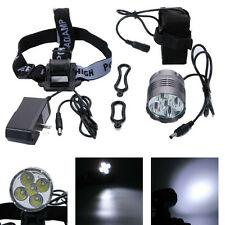 New 15000LM 5xT6 LED Front Bicycle Light Bike Headlamp Head Lamp Headlight Torch