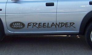 LAND ROVER FREELANDER Aftermarket Door Stripes Decal Sticker Set Kit Door