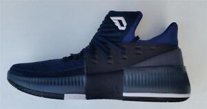 adidas mens dame 3 basketball mid boot shoe royal new bb8271 uk 11.5
