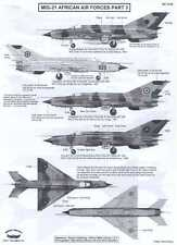 Berna Decals 1/72 MIKOYAN MiG-21 FISHBED Fighter African Air Forces Part 3