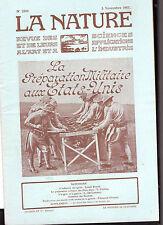 La Nature- 1913- Revue des sciences - Préparation militaire aux Etats-Unis
