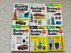Lot of 6 2016 to 2021  Buying Guides CONSUMER REPORTS cars tvs grills appliances photo