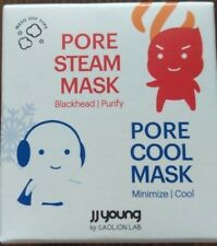 Jj Young by Caolion Lab Pore Steam + Cool Mask Blackhead/Purify Nib