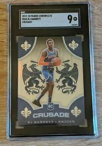 2019 Panini Chronicles #540 Crusade RJ Barrett SGC 9