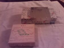 Vintage RAY Tissue Dispenser....WITH BOX OF TISSUE
