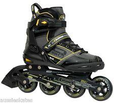 RDS Aerio Q-60 Mens Inline Roller Skates Rollerblades Blades RRP $199 US Size 7