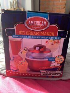 American Originals Ice Cream Maker 0.6L - Red