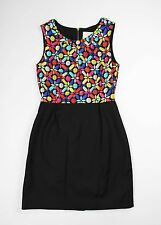Kate Spade kaleidoscope Gem Print Shift Dress Size 12 NWT