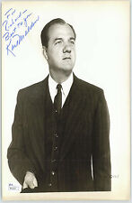 Karl Malden Actor, (Deceased) Oscar Winner Signed 8X10 Jsa Coa #P41665