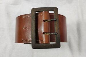 Original Zweidornkoppel Ledergürtel braun für Politische Leiter,hohe Beamte RZM