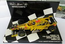 F1 1/43 JORDAN 198 HONDA HILL GERMAN GP 1998 MINICHAMPS