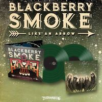 "Blackberry Smoke ""Like An Arrow"" SIGNED Green Vinyl - NEW"