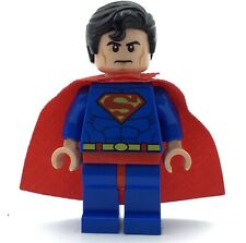 LEGO SUPERMAN MINIFIGURE SUPER HERO AUTHENTIC FIG RED CAPE