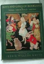 1923 Boys & Girls of Bookland 11 Large Jessie Wilcox Smith Color Illus.