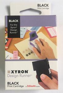 Xyron Design Runner Black Print Cartridge 18C1110 New Sealed