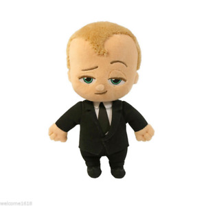 """New Official 23/9"""" Dreamworks Movie The Boss Baby Suit Baby Plush Soft Dolls"""