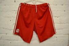 LIVERPOOL 2010/2012 FOOTBALL SHORTS SOCCER HOME ADIDAS MENS M RED