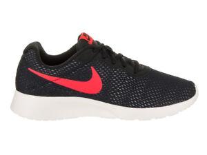 Nike Men's TANJUN SE Shoes Black/Solar Red/Platimum 844887-005 b