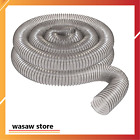 """2 1/2"""" X 20' Clear Pvc Dust Collection Hose by Peachtree Woodworking Pw368"""