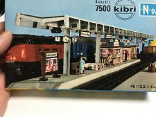 Kibri Scale N 7500 - Bausatz Bahnsteig - Platform