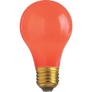 Satco 25W Red Party Bulb