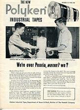 1951 Print Ad of Polyken Industrial Tape at Aerojet Engineering Corp JATO