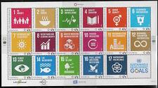 UN Scott #NY 1147/Geneva 629/Vienna 596, M/S 2016 Complete Set FVF MNH