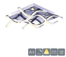 AUROLITE LED 4 Lights Ceiling Light, Polished Chrome Finish, Warm White (3000K)