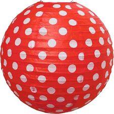 JaBaDaBaDo Papier Lampenschirm Rot mit weißen Punkten ø 50 cm