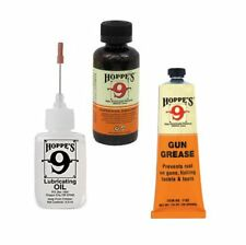 HOPPES Gun Bore Cleaner & Hoppes PRECISION Lube OIL & Gun Grease