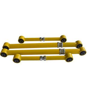 Rear Upper Lower Adjustable Trailing Arms For Toyota Landcruiser 80 105 Series