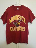 Vintage single stitch Golden Gophers University of Minnesota Size Men L