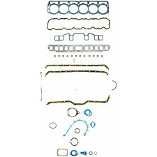 AMC Jeep Full Gasket Set Head Valve Cover Oil Pan Timing Cover 232 258 L-6