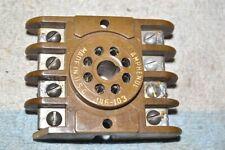 AMPHENOL 146-103 RELAY/TIMER-MODULE/EXPERIMETER SOCKET 8-pin OCTAL-STYLE