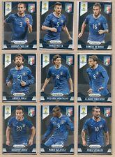 Italy Italia 2014 Panini Prizm World Cup Team Set - Cards: 11