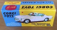Corgi 258 The Saints Car Empty Repro Box Only